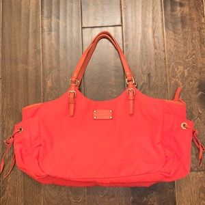 Kate Spade Coral Stevie with Pink Lining